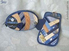 quilted patchwork eyeglass case - Google Search: