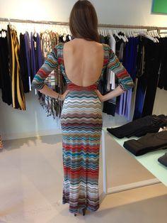 Veronica M. scoop back dress