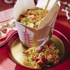 I have yet to prepare a fried rice that I thought matched take-out flavor. Maybe this is the one. Gotta try it.
