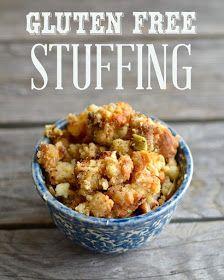 Yammie's Glutenfreedom: Gluten Free Stuffing