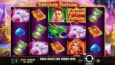 Fairytale Fortune free pokies by Pragmatic Play is available to play online with free credits.  Have a spin on this fantastic fairytale slot with stunning graphics, just like a storybook.