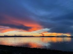 Sunset across SF Bay by Ruth Mariner