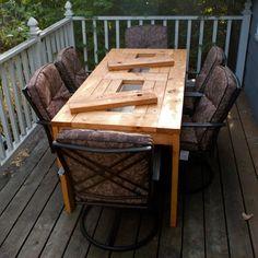gartentisch+selber+bauen+patio+table+with+built+in+beer