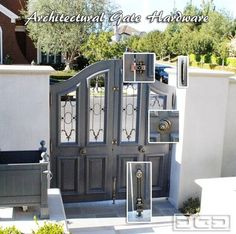 Custom Garage Doors, Garden Gates & Shutters in a French Château Style - spaces - orange county - Dynamic Garage Door