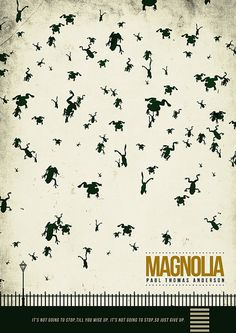 #Magnolia. Cool poster for a great movie!