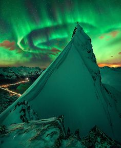 """Svolvaer, Norway. © """"In Green Company"""" by Max R"""