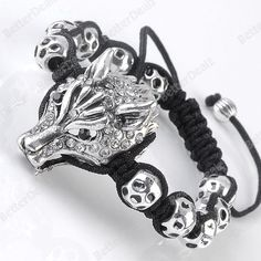 Mens BraceletDisco Ball Macrame Bracelet everyday discount pricewholesale Bracelet in wholesale jewelry shop