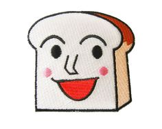 Bread Anpanman Applique Iron on Patch