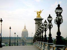 Alexander Bridge, Paris