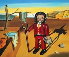 Dalí versión #playmobil descubre más en nuestra noticia del blog!