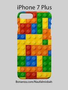 Lego Colourful Bricks iPhone 7 PLUS Case Cover Wrap Around