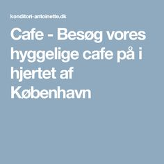 cafebesøg for to