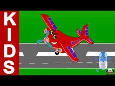 ▶ I Am Little Airplane | Kids Songs & Nursery Rhymes With Lyrics (English Language) HD - YouTube