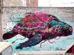 Les œuvres de ce street-artist sont absolument MAGNIFIQUES !