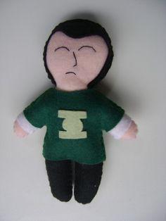 Boneco do personagem Sheldon Cooper R$20,00