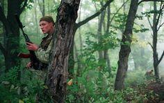 Russian Spetsnaz (GRU), May 1995, Chechnya moutains.