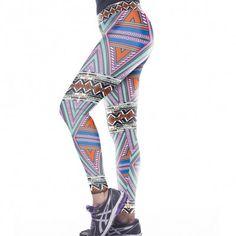 Comfortable Geometry Pattern Yoga Leggings