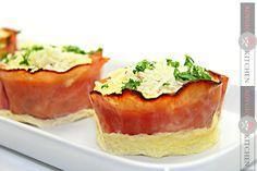 Savoury muffins - Adygio Kitchen #adygio #adygiokitchen #breakfastideas Savory Muffins, Parmezan, Starters, Cheesecake, Brunch, Kitchen, Desserts, Recipes, Food
