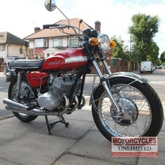 Stunning Rare (1971 Kawasaki H1 Mach 111 for Sale - £11,989.00) at Motorcycles Unlimited http://www.motorcyclesunlimited.co.uk/1971-kawasaki-h1-mach-111-for-sale/