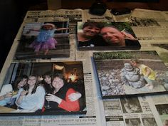 Making Home: DIY Photo Canvas - another Completed Pinterest Project !