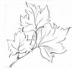 как рисовать листья деревьев карандашом: 37 тыс изображений найдено в Яндекс.Картинках