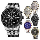 Men's August Steiner AS8069 Swiss Quartz Multifunction Coin Edge Bezel Watch, save more with ebay promo code: http://promocode4share.com/stores/ebay.com/