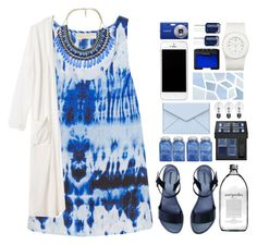 """""""deep waters"""" by futurology ❤ liked on Polyvore featuring MICHAEL Michael Kors, Monki, Givenchy, Rebecca Minkoff, NARS Cosmetics, The Unbranded Brand, Essie and tiedye"""