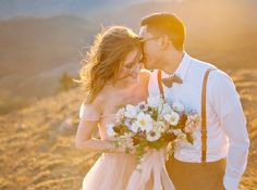 Romantic Pastel Elopement Inspiration
