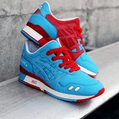 "Bait x ASICS ""Olympic Rings"" that's a fresh blue #asics"