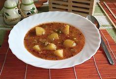 Gulášová polévka se zeleninou
