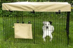 Dog exercise pen cover