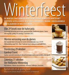 Winterfeest bij Van der Lijn Wereldmode!