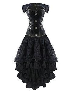 Burvogue Women's Steampunk Costume (XX-Large, Picture24) ... https://www.amazon.com/dp/B01J5P6KFO/ref=cm_sw_r_pi_dp_x_Jmt8xbJDCCYPG