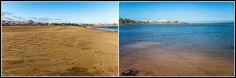 Playa Pocillos - Efectos de la marea 2