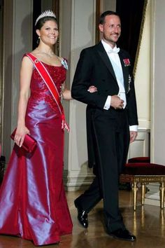 Crown Princess Victoria wore this tiara for a dinner during an Official Visit to Norway in June 2005.