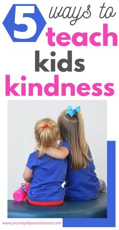How to teach your child to be kind - 5 tips for teaching children kindness and how to be a light in a dark world. Spread love towards each other in a caring way! Gentle Parenting, Parenting Advice, Social Emotional Learning, Social Skills, Teaching Kindness, Empathic, Parenting Toddlers, Help Teaching, Healthy Kids