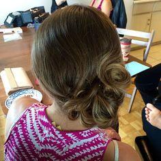 """#bridesmaid #updo by #stylesandthecity #yegstylist @haileyklein_ #jigsawforhair #bridesmaidhair #updo #weddinghair"" Photo taken by @jigsawforhair on Instagram, pinned via the InstaPin iOS App! http://www.instapinapp.com (07/11/2015)"