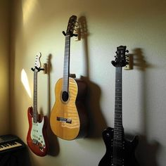 Hang Guitar On Wall for the music room! | new family home | pinterest | guitar wall