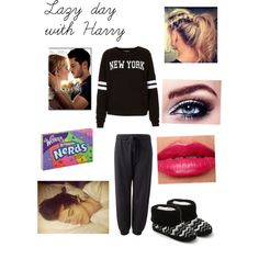 Lazy day with Harry * request*