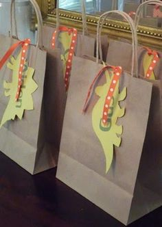 dino gift bags