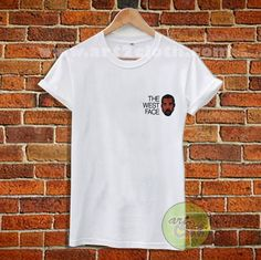 Kanye West Face T Shirt Size XS,S,M,L,XL,2XL,3X //Price: $12 //     #FashionMens