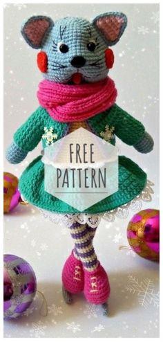 Mesmerizing Crochet an Amigurumi Rabbit Ideas. Lovely Crochet an Amigurumi Rabbit Ideas. Amigurumi Patterns, Amigurumi Doll, Knitting Patterns Free, Crochet Patterns, Amigurumi Tutorial, Crochet Ideas, Crochet Gifts, Crochet Dolls, Free Crochet