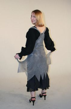 Chainmail Bodice Back