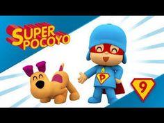 Pocoyo Super - Super Pocoyó nos ayuda a mantener los dientes limpios