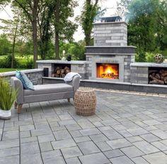 Ultimate Deck And Patio Area Retreat For Easy Living – Outdoor Patio Decor Design Patio, Backyard Patio Designs, Backyard Landscaping, Patio Ideas, Pavers Ideas, Pool Backyard, Porch Ideas, Garden Ideas, House Design