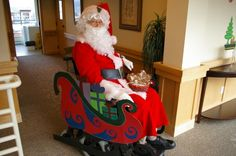 Santa Sleigh Chair. >>> See it. Believe it. Do it. Watch thousands of SCI videos at SPINALpedia.com