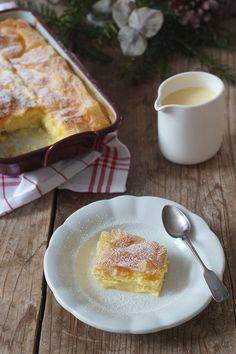Milk Cream Strudel Recipe by Sweets & Lifestyle®️️ - Kuchen, Muffins und Co - Strudel Recipes, Cream Pie Recipes, Baking Recipes, Cake Recipes, Snack Recipes, Baking Dishes, Cheap Healthy Snacks, German Baking, Food Cakes