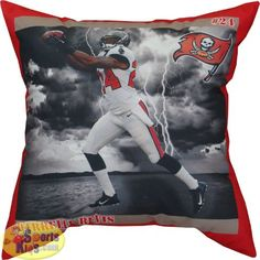 NFL Cleveland Mickey Mouse Bed Rest Pillow  d044dedde