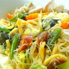 Pancit Miki-Bihon by #edonnabelle #filipinofood