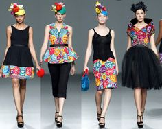 Las DISEÑADORAS PERUANAS brillan en la MBFW de MADRID Haute Couture Style, Couture Mode, Couture Fashion, Mexican Fashion, Mexican Outfit, Mexican Dresses, Fashion Books, 70s Fashion, High Fashion
